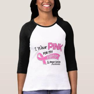 Llevo el rosa para mi cáncer de pecho de la camiseta