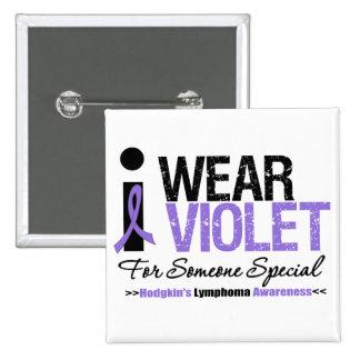 Llevo la violeta para alguien especial pins