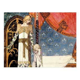 Lloroso adiós como el príncipe Must Leave Tarjetas Postales