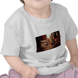 Lluvia - Chinatown - New York City Camiseta