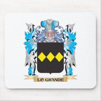 Lo-Grande escudo de armas - escudo de la familia Tapete De Raton