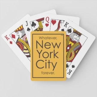 Lo que, New York City para siempre Barajas De Cartas