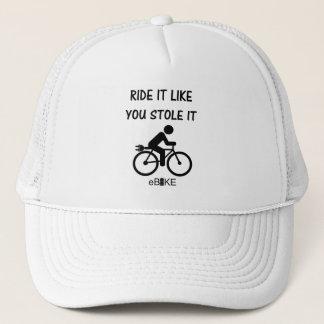 """""""Lo robó"""" los gorras de ciclo para él y ella"""