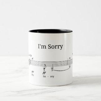 Lo siento - mi taza preferida del tributo del