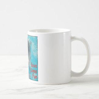 Lo único que quiero hacer es divertirse cierto taza básica blanca
