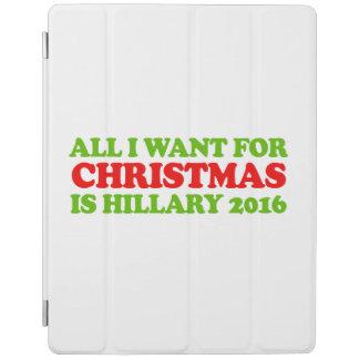 Lo único que quiero para el navidad es Hillary Cover De iPad