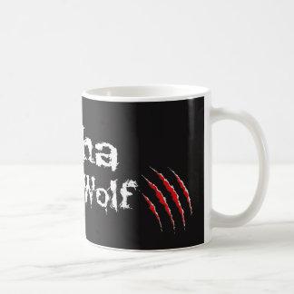 Lobo alfa - garra taza de café