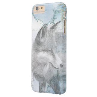 Lobo blanco como la nieve funda barely there iPhone 6 plus