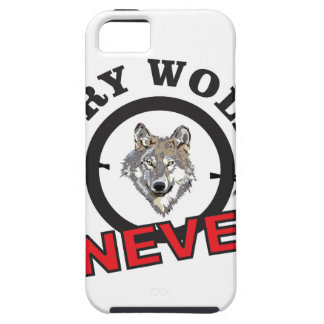 lobo de púas del grito ningún funda para iPhone SE/5/5s