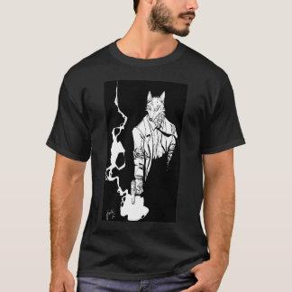 Lobo del artillero camiseta