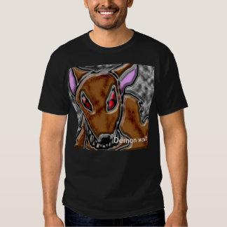 lobo del demonio camiseta