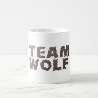 Lobo del equipo taza de café