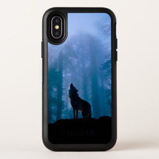 Lobo del grito - lobo salvaje - lobo del bosque