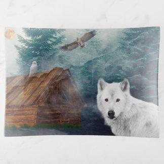 Lobo en la cabina