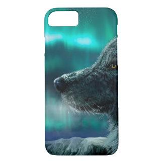 Lobo en la noche funda iPhone 7