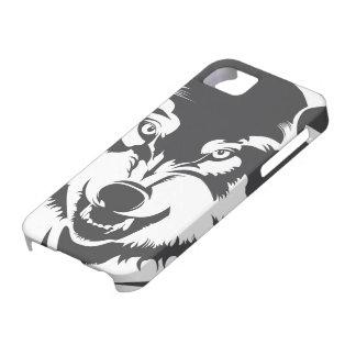 Lobo iPhone 5 Cárcasas