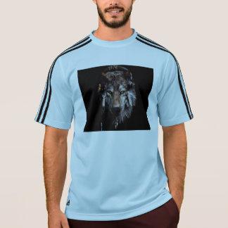 Lobo indio - lobo gris camiseta