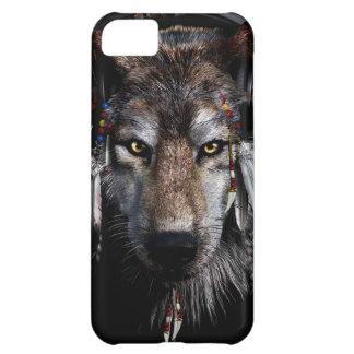 Lobo indio - lobo gris funda para iPhone 5C