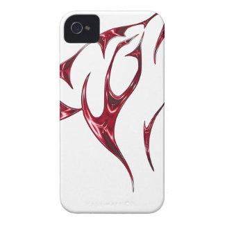 Lobo/lobos frescos del grito carcasa para iPhone 4