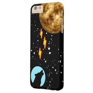 Lobo potente de la luna funda barely there iPhone 6 plus