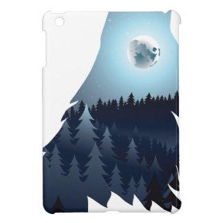 Lobo que grita con el bosque 4
