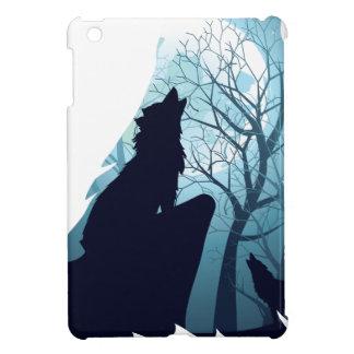 Lobo que grita con Forest2-01