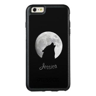 Lobo que grita en la Luna Llena, su nombre Funda Otterbox Para iPhone 6/6s Plus