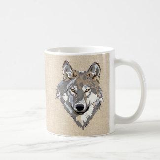 lobo taza de café