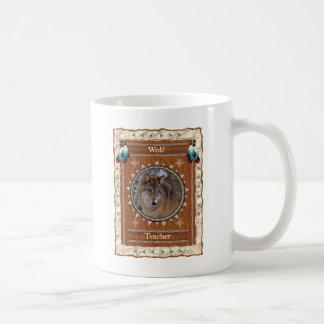 Lobo - taza de café clásica del profesor