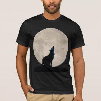 Lobo y Luna Llena Camiseta