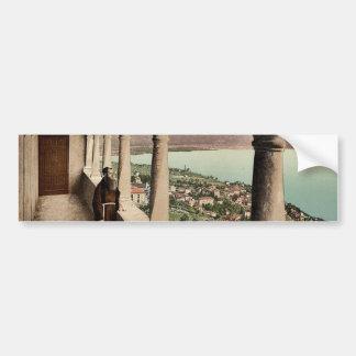 Locarno, Madonna del Sasso, logia, Tessin, Switze Etiqueta De Parachoque