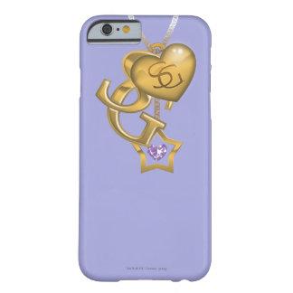 Locket del oro de Supergirl Funda De iPhone 6 Barely There