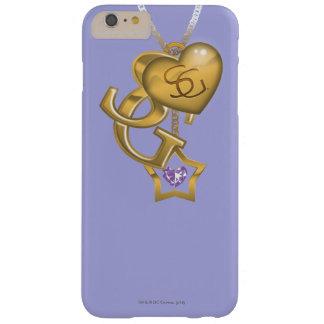 Locket del oro de Supergirl Funda Para iPhone 6 Plus Barely There