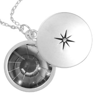 Locket secreto de la plata del infinito medallón