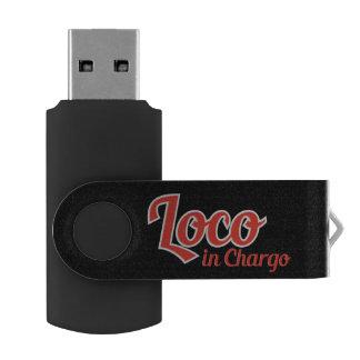 Loco en Chargo intrépido Memoria USB