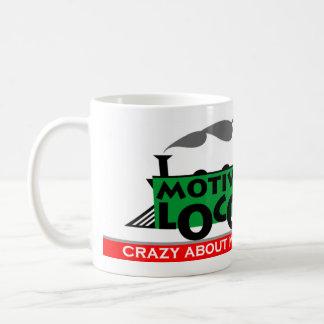 Loco motivo taza de café