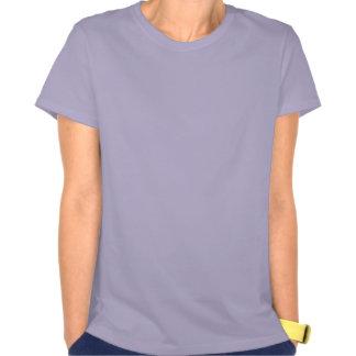 Loco por la camiseta púrpura de las señoras del ca