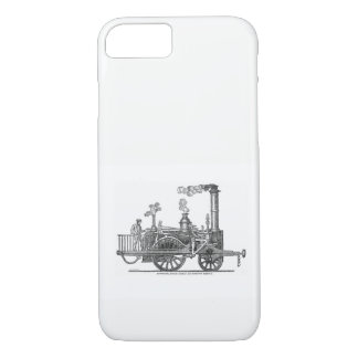 Locomotora de vapor temprana funda para iPhone 8/7