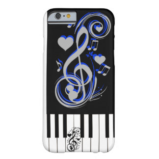 Lof Love_ de la llave Funda Para iPhone 6 Barely There