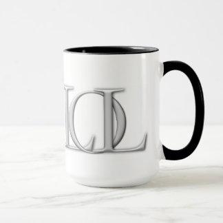 Lógica de la taza de café del logotipo de la