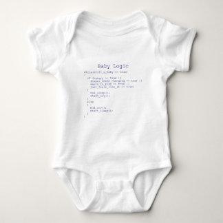 Lógica del bebé body para bebé