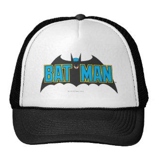 Logotipo 1 del vintage de Batman Gorro