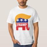 Logotipo 2016 del pelo del elefante del presidente camiseta