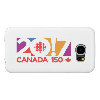 Logotipo 2017 de CBC/Radio-Canada Funda Samsung Galaxy S6