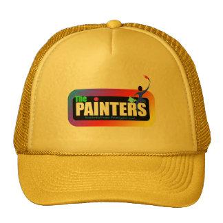 logotipo 4 del pintor gorro de camionero