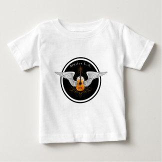 Logotipo acústico del LA de Musica Camiseta De Bebé