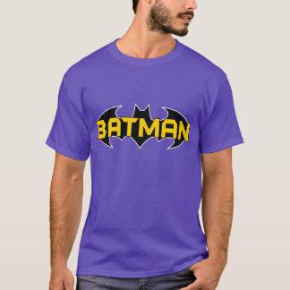 Logotipo amarillo del símbolo el | de Batman y Camiseta