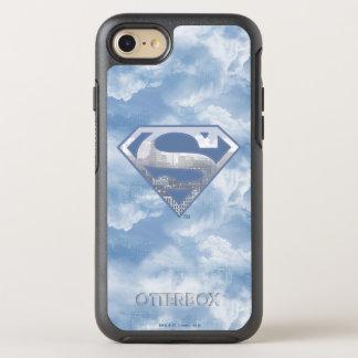 Logotipo azul claro de la ciudad del S-Escudo el | Funda OtterBox Symmetry Para iPhone 8/7