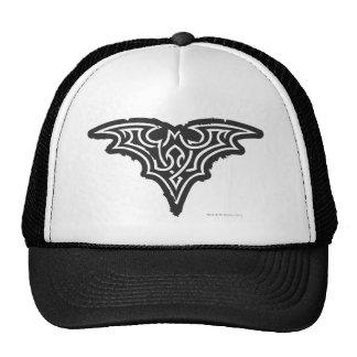 Logotipo blanco negro urbano del símbolo el | de gorro