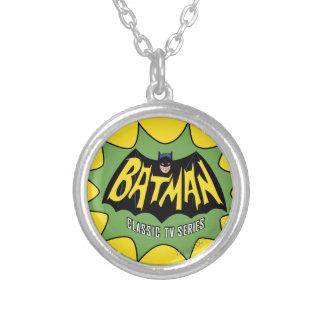 Logotipo clásico de la serie televisiva de Batman Colgante Redondo
